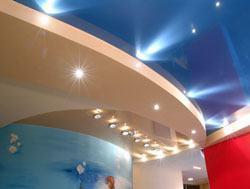 Натяжные потолки г.Новокузнецк, сатиновые натяжные потолки, глянцевые натяжные потолки